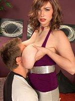 Christy Marks - Big Tits, Blowjob, Cumshot, Natural Boobs