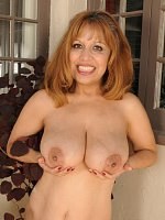 Marissa	Exotic 47 year old Marissa from AllOver30 doing a little naked gardening