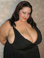 BBW plumper with macromastia big tits