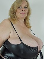 Massive breasts blond can smother you with her tits.