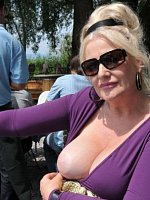 Crazy mature flashing housewives exposed naked