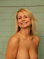 British amateur MILF with fucking great mature tits