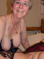 I meet granny Sally Ann for some naughty girlgirl fun watch us play with our toys straponstwo real grannys getting down dirty for just you xx