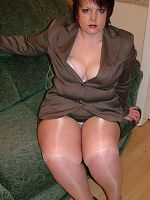 In My Sexiest Mini Skirt Suit With Seamed Stockings Heels I Was Determined To MAke A Good Impression I imagined him fucking me over his desk and sucki