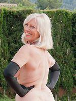 ass big tits blonde european high heels Sandy's Secrets stockings