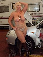Couldnt resist doing some pics with this hire car companys name Wonder if they hire cars to non cougars too Melody x