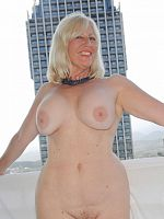 ass big tits blonde european high heels Sandy's Secrets shower stockings wet