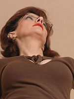 big tits brunette high heels Lady Sonia pantyhose