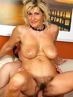 At 52 years old Berna still loves a long hard cock deep inside of her
