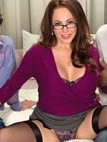 Raquel Sieb - Anal, Blowjob, Cumshot, Mature, Group Sex