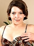 Tight pussied MILF shows off her leopard skin lingerie in here