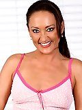 Mature Michelle A in tight pink panties displaying her hot body