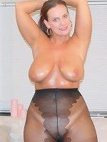 Amateur mature with big mature tits