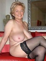 Amateur mature with big mature tits