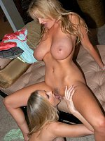 Kelly and Julia Ann eat each other out and fulfill their fantasy.